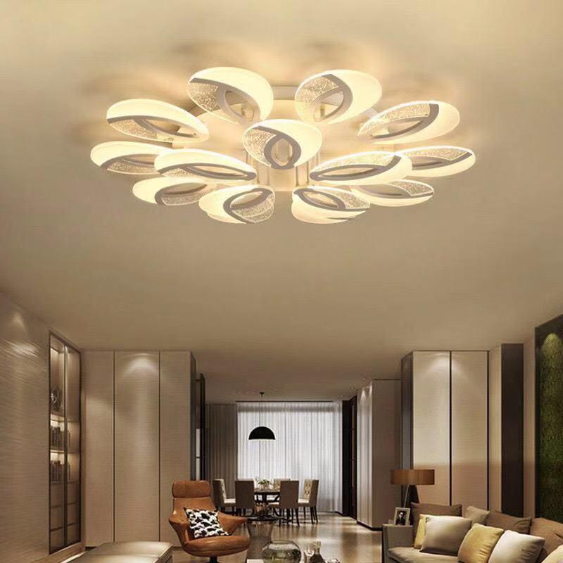 Đèn ốp trân cho chung cư trần thấp